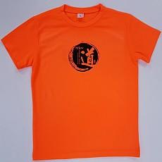형광주황티셔츠