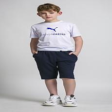 퓨마 어린이날 티셔츠(WHITE)